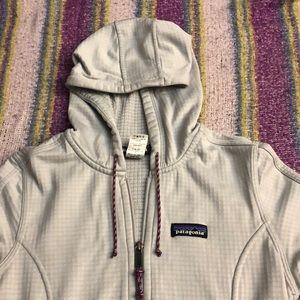 Patagonia thermal zip up hoodie
